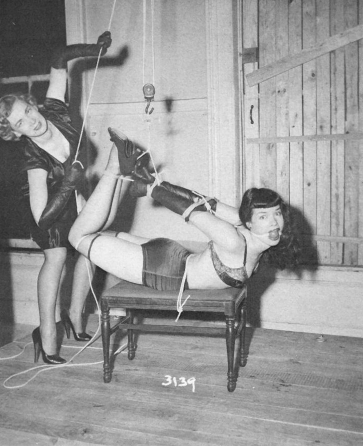 Bettie: Hogtied and Gagged