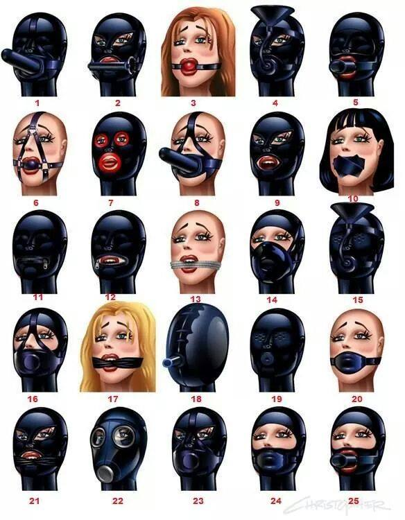 Gags and hoods